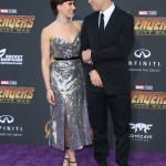 "The couple walked hand in hand on the red carpet of the premiere of ""Avengers: Infinity War."" (Photo: WENN)"