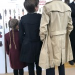 "Victoria Beckham's ""toughest critics"" (a.k.a. her Harper, Cruz and Romeo) checking out mommy's fashion collection at New York Fashion Week. (Photo: Instagram)"