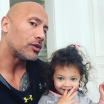 "When The Rock celebrated International Women's Day with a cute video of her daughter Jazzy saying ""girl power!"" (Photo: Instagram)"