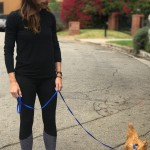 "There's cat ladies and there's Jennifer Garner who is a self-proclaimed ""chicken lady."" Here, a picture of Garner walking Regina George (the chicken) to prove it. (Photo: Instagram)"