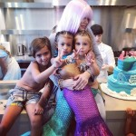 Only auntie Koko would dress up head to toe as a magical mermaid for her nieces' birthday party! (Photo: Instagram)