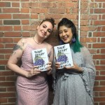 "Dunham posed with author Jenny Zhang to celebrate the author's debut work, a collection of stories that follows the experiences of different Chinese American girls who live in New York City. Wrote Dunham: ""We out here so excited about this book of the century!"" (Photo: Instagram)"