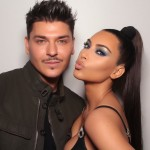 He met Kim in 2008 when he did her makeup for a photoshoot for Social Life magazine and have been BFF's ever since them. (Photo: Instagram)