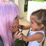 No wonder Penelope couldn't stop staring at Khloé! (Photo: Instagram)