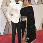 His date on the Oscar's red carpet was his mom. AWWW! (Photo: WENN)
