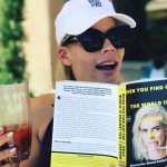 """""""When You Find Out the World Is Against You,"""" by screenwriter Kelly Oxford, named one of the Funniest People on Twitter by Rolling Stone, is best paired with a cocktail by the poolside, according to Busy Phillips. (Photo: Instagram)"""
