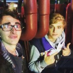 Isaac is actually best friends with Dean-Charles Chapman, whom you may now as Tommen Baratheon in Game of Thrones! (Photo: Instagram)