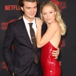 Though it hurts to know Keery is a taken man, him and girlfriend Maika Monroe are couple goals, whether they're simply grabbing lunch or slaying on the red carpet. (Photo: WENN)
