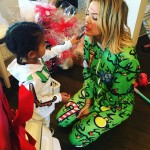 Step aside, Joyce Bonelli! North is Khloé new makeup artist. (Photo: Instagram)