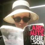 """Thank you @rowanblanchard for lending me a book that draws me towards the people inside it and the person inside me,"" Oscar-winner Brie Larson said of Maggie Nelson's memoir, ""The Argonauts."" (Photo: Instagram)"