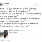 Meghan Markle's gray hair deserves to be on the news. (Photo: Twitter)