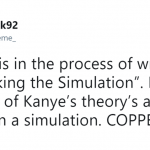 Kanye is coming for us all. (Photo: Twitter)