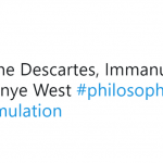Kanye West is the new philosopher in town. (Photo: Twitter)
