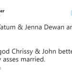 THEY BETTER REMAIN HAPPILY MARRIED. (Photo: Twitter)