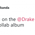 Kid Cudi sounds cool and everything, but when are you going to collab with Drake?! (Photo: Twitter)