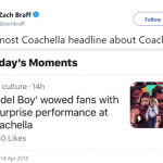 This is even too Coachella for Coachella. (Photo: Twitter)