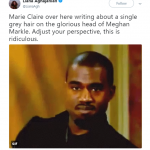 Kanye doesn't approve. (Photo: Twitter)