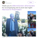 Dang, girl! That's what I call a prom date! (Photo: Twitter)