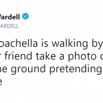 That truly is Coachella at its best! (Photo: Twitter)