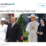 Style tops from The Young Pope. (Photo: Twitter)