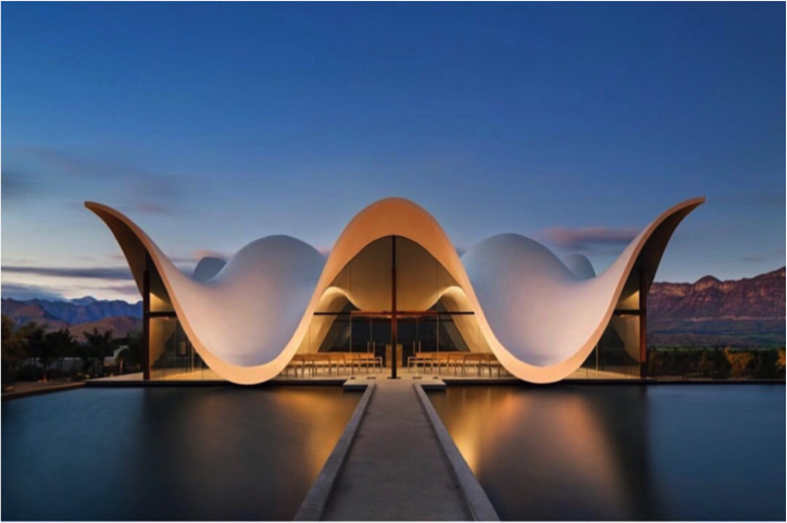 Bosjes Chapel – Cape Town, South Africa (Photo: Instagram)
