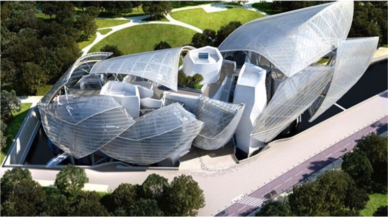 Louis Vuitton Foundation - Paris, France (Photo: Instagram)