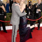 Cuba Gooding Jr. and Jennifer Lawrence hugging at the red carpet of the 20th SAG Awards. Is there room for me? (Photo: WENN)