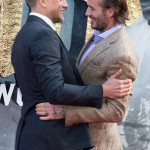 "I wish it was me and not Charlie Hunnam whom David Beckham hugged at the ""King Arthur"" UK premiere. Oh well—a girl can dream! (Photo: WENN)"