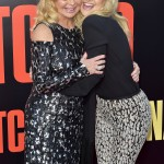 "Nothing new here—just Kate Hudson hugging her mom Goldie Hawn at the ""Snatched"" premiere in L.A. (Photo: WENN)"