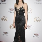 Gal was radiant at the 2018 Producers Guild Awards in a plunging strappy black gown, boasting a sheer skirt and bodice by Armani Prive and Anita Ko jewels. (Photo: WENN)