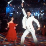 "John Travolta rose to fame in the role of Tony Manero, a working-class young man who spends his weekends dancing and drinking in ""Saturday Night Fever."" (Photo: WENN)"