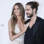 Heidi Klum and Tom Kaulitz made their red carpet debut. (Photo: WENN)