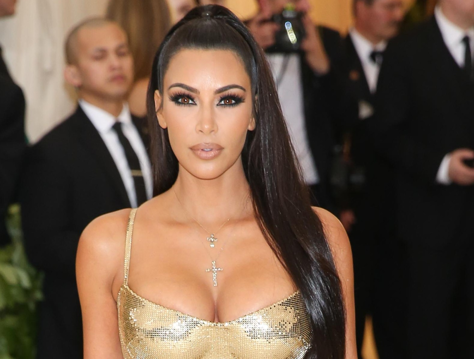 "Is Kim Kardashian making a surprise cameo on ""Stranger Things"" season 3? (Photo: WENN)"
