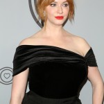 Fiery red locks, juicy red lips, smooth porcelain skin, and irresistible curves. Christina Hendricks is the definition of bombshell! (Photo: WENN)
