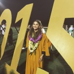 """Please remember knowledge is one of the most powerful gifts we have the privilege of receiving...don't take that for granted,"" Zendaya captioned a picture of her graduation in 2015. (Photo: Instagram)"