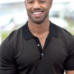 Michael B. Jordan's pearly white against his perfect dark skin is just too much to handle. (Photo: WENN)