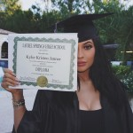 The youngest of the Jenner/Kardashian krew, Kylie, posted this Instagram after graduating from Laurel Springs High School in 2015 with a sweet thank you to her mom in the caption. (Photo: Instagram)