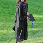 """Eva Longoria proved she's not just a pretty face after she received a Master's Degree in Chicano Studies back in 2013 from Cal State Northdrige University at age 38. """"You're never too old or too busy to continue your education!"""" (Photo: Facebook)"""