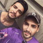 Tom is an identical twin. His brother, who's also the lead singer of their band, is Bill Kaulitz. Tom was born 10 minutes before Bill, which makes him the oldest twin. (Photo: Instagram)