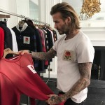 He is hardworking. You know how when athletes retire and stop caring? Well, not David. Aside from playing dad, he has been dabbling in the fashion world and going around the world to help those in need. (Photo: Instagram)