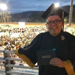 Not only did Manny Delgado graduated high school in season 8 of Modern Family but so did Rico Rodriguez as he celebrated with this picture of Class of 2017 posted to his official Twitter account. (Photo: Twitter)
