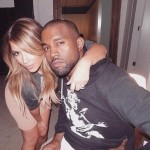 A #TB picture of when Kim and Kanye had just started dating. (Photo: Instagram)