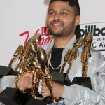"And how could we forget that time Bella gushed about Abel on Instagram after winning 7 Billboard awards. ""I'm so proud of you baby! Hardest working man I know and the MOST deserving!"" (Photo: WENN)"
