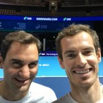 They are one of the greatest tennis rivals of the modern era, but away from the court, Andy Murray and Roger Federer are actually great mates! (Photo: WENN)
