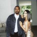 Kim and Kanye being beautiful together. (Photo: Instagram)