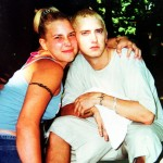 Eminem was in a very tumultuous relationship with the mother of her kids, Kim Scott. (Photo: WENN)