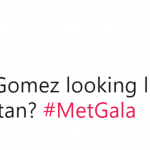 "She probably thought this year's Met Gala theme was ""Friends."" (Photo: Twitter)"