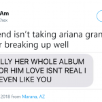 If Ariana and Mac Miller can't be together, then what's the point of us? (Photo: Twitter)