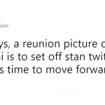 Stop trying to ruin this glorious moment. (Photo: Twitter)