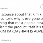 No saying Kim's post wasn't irresponsible—but y'all gotta admit there's some truth on this tweet… (Photo: Twitter)